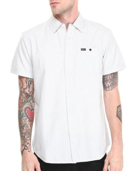 RVCA White Lagos S/S Button-Down