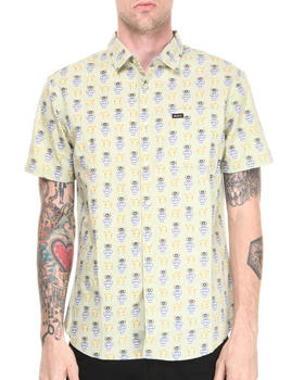 RVCA - Alsweiler Camel S/S Button-down