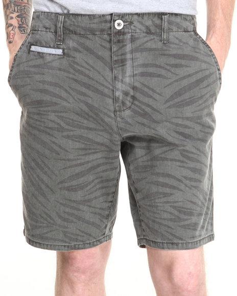 RVCA Grey Animo Stripe Shorts