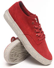 Men - Johnson Low Perforated Suede Sneakers