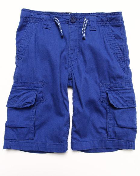 Levi's - Boys Navy Deck Cargo Shorts W/ Drawcord (8-20)