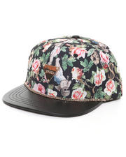 Accessories - Angelic Rich Floral Snapback