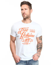 True Religion - Calligraphy Logo Tee