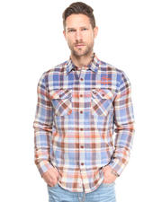 Men - Candy Plaid Shirt