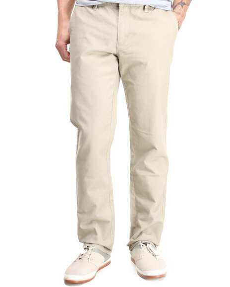 RVCA - All Time Slim Straight Fit Chino Pants