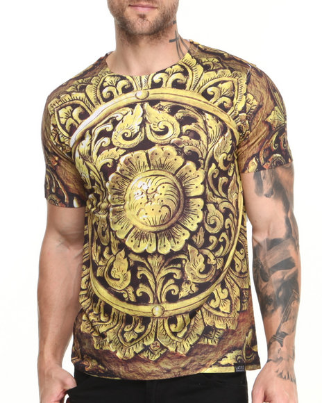 L.A.T.H.C. Gold Gold Shield Tee