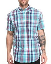 Men - Vineyard Popline S/S Button-Down