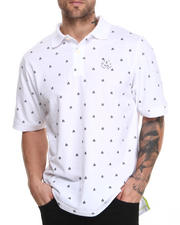 Men - Manhunt All-over Print Short Sleeve Pique Polo
