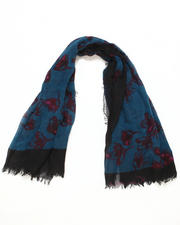 Accessories - Floral Voile Scarf