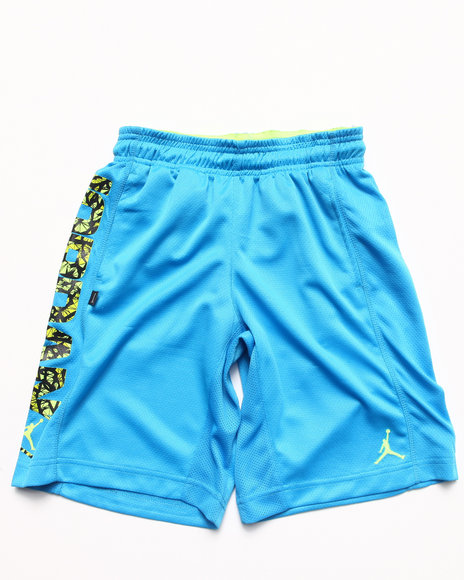 Air Jordan - Boys Blue Jordan Go Two Three Shorts (8-20)