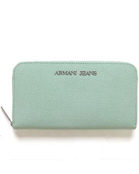 Armani Jeans - Textured Zip Wallet