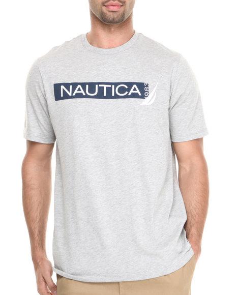 Nautica Grey Nautica 1983 T-Shirt