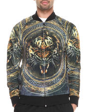 Track Jackets - Tiger Sublimation Starter Jacket