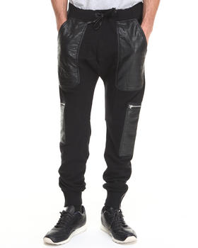 Winchester - Black Hawk P U - Trimmed French Terry Curved - Rise Jogger