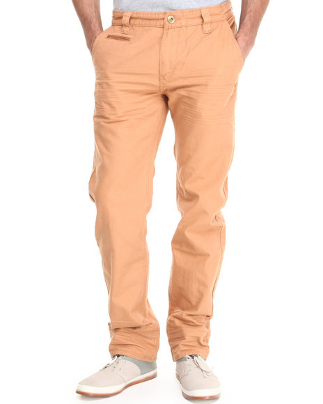 A Tiziano Orange Austin Cotton Pants