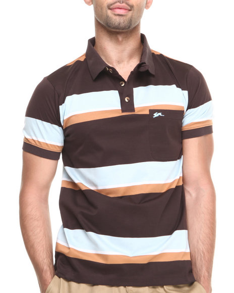 A Tiziano Brown Adam S/S Polo