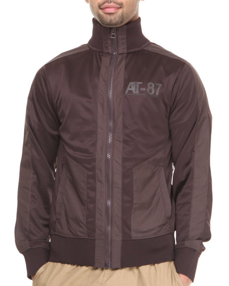 A Tiziano Brown Jude Track Jacket