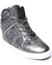 Baby Phat - Mimi Jacquard Print Wedge Sneaker