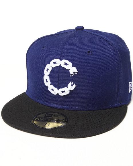 Crooks & Castles - Men Blue Chain C Fitted
