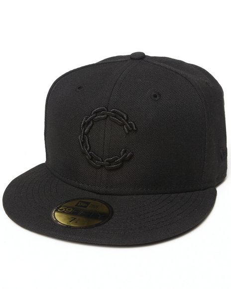 Crooks & Castles - Men Black Chain C Fitted