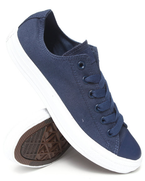 Converse - Men Navy Mono Pack Chuck Taylor All Star Ox Sneakers