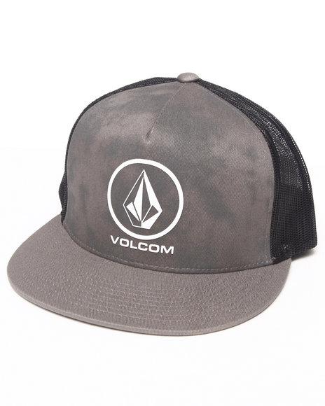 Volcom Mutt Mesh Snapback Cap Grey