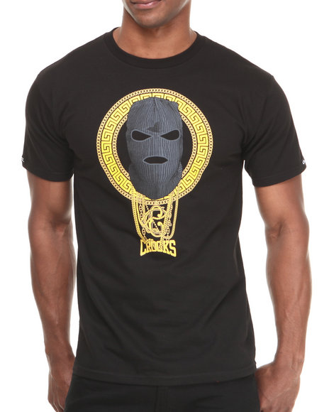 Crooks & Castles Black Goon Squad T-Shirt