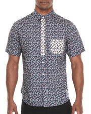 Men - Elite Paisley S/S Button-Down