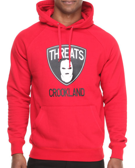 Crooks & Castles Red Hoodies