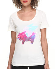 Tops - Galaxy Flying Pig Tee