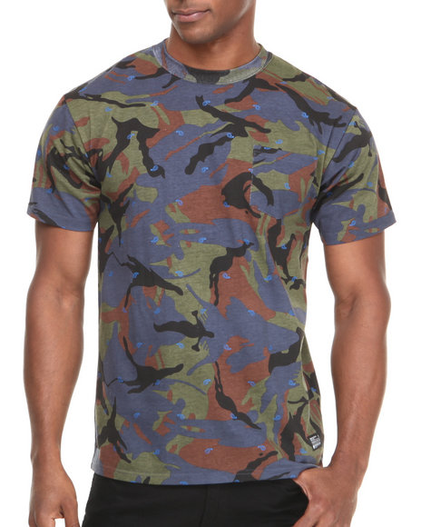 Crooks & Castles Camo Killstreak T-Shirt