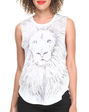 Tops - Stussy X Jules Kim Lion Muscle Tee