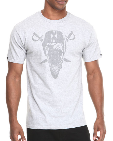 Crooks & Castles Grey Marauders T-Shirt