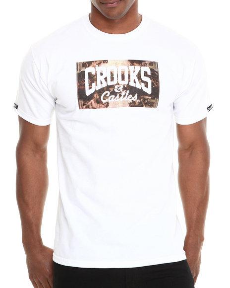 Crooks & Castles - Men White Solidarity T-Shirt
