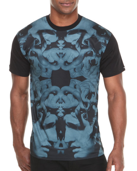 Crooks & Castles - Men Black Hellenist T-Shirt
