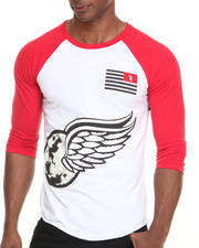 Men - V Wings Baseball Raglan