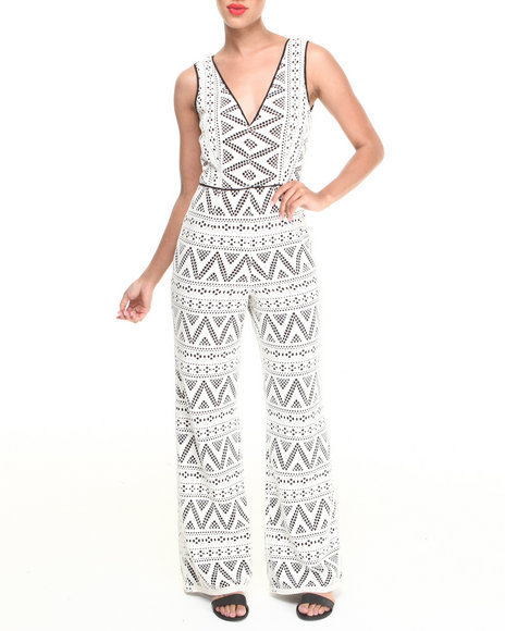 Dv By Dolce Vita - Women Cream Rianna Jumpsuit