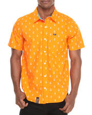 Button-downs - STAY ANCHORED S/S BUTTON-DOWN