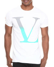Men - V L Gradient Logo S/S Tee