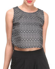 Tops - Nana Lace Crop Top