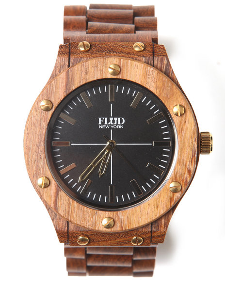 Flud Watches The Konstruct Watch Brown