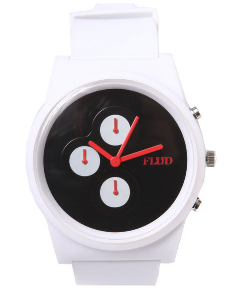 Flud Watches White Clothing Accessories