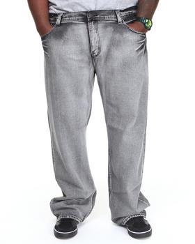 Basic Essentials - Bleach Wash Denim Jeans (B&T)