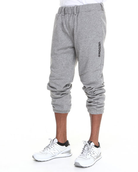 Crooks & Castles - Men Grey Two Timer Sweatpant - $55.99