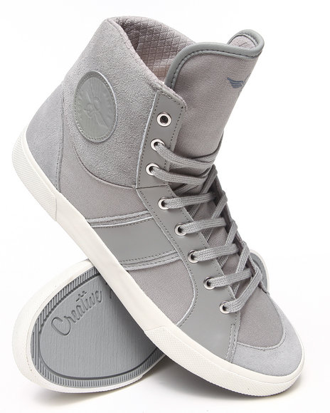 Creative Recreation - Men Grey Fenelli Hightop Sneaker - $60.99