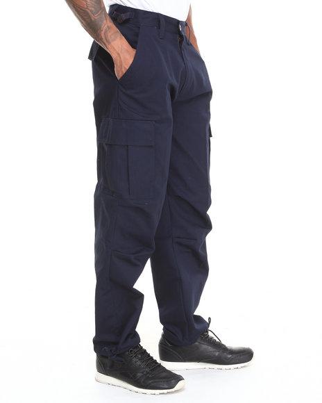 Basic Essentials - Men Navy Cargo Pants - $18.99