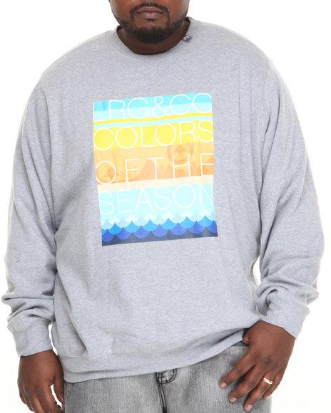 Lrg - Men Grey Colors Of The Season Sweatshirt (B&T)