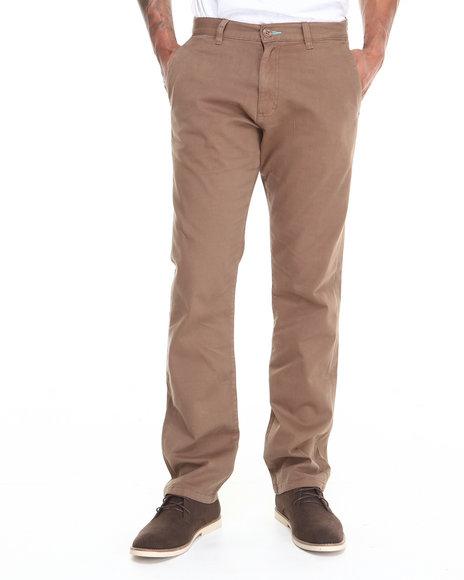 Fourstar Khaki Carroll Twill Standard Fit Chino Pants