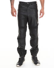 Pants - Biker Faux Leather Pant