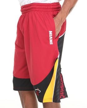 NBA, MLB, NFL Gear - Miami Heat Zebra Mesh Drawstring Shorts